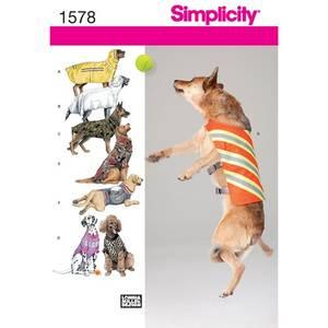 Bilde av Simplicity 1578 Hundedekken