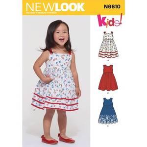Bilde av New Look N6610 Kjole