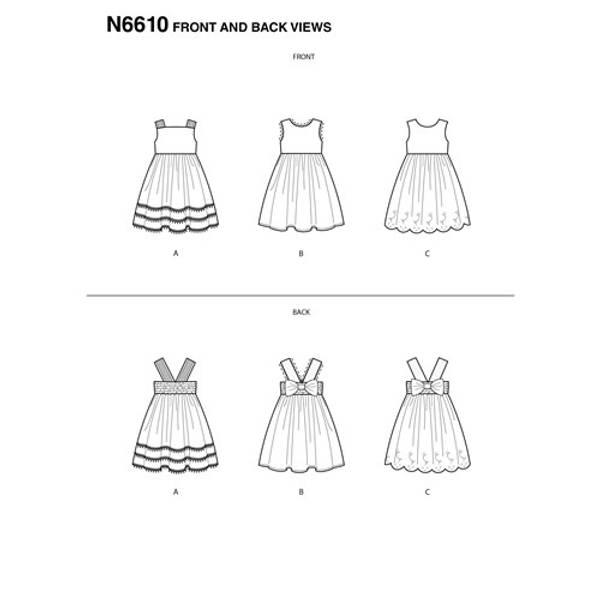 New Look N6610 Kjole
