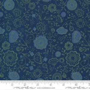 Bilde av Moda Cottage Bleu - Floral Fling Midnight