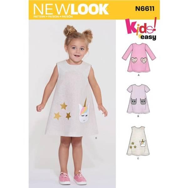 New Look N6611 Kjole