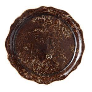 Bilde av Sthål - rundt serveringsfat / pizzafat, Coffee