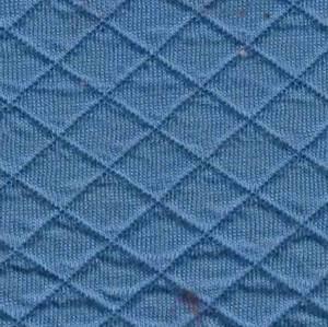 Bilde av Quiltet jersey støvet blå