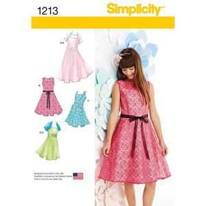Bilde av Simplicity 1213 Jente kjole i to lengder