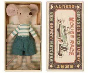 Bilde av Maileg - Storebror mus i fyrstikkeske