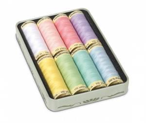 Bilde av Gütermann trådpakke 8 stk - pastellfarger