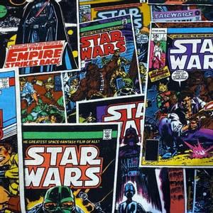 Bilde av Bomull Star Wars tegneserie forside