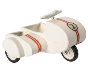 Bilde av Maileg - Scooter med sidevogn, hvit