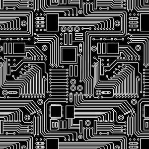 Bilde av Bomull - stem squad - circuit board