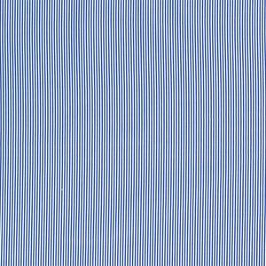 Bilde av Bomullspoplin - striper blå