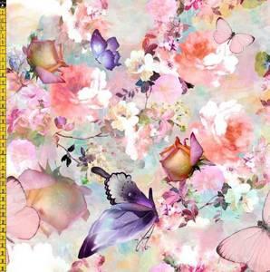 Bilde av Jersey - sommerfugler og blomster