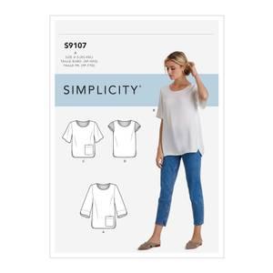 Bilde av Simplicity S9107 Topp