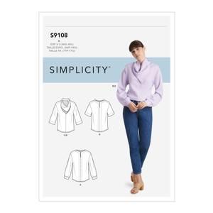 Bilde av Simplicity S9108 Topp