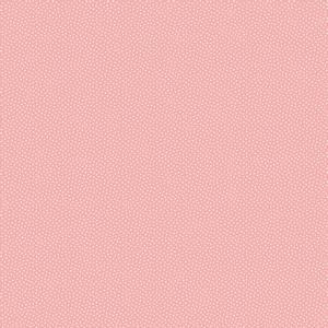 Bilde av Bomull Morning in the garden rosa med hvit prikk