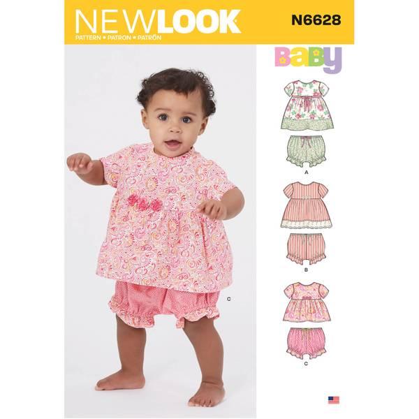 New Look N6628 Bloomer og kjole