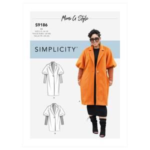Bilde av Simplicity S9186 Kåpe og jakke