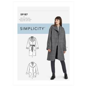 Bilde av Simplicity S9187 Kåpe og jakke