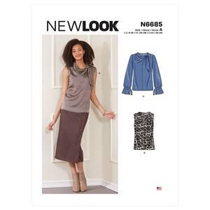 Bilde av New Look N6685 Topp