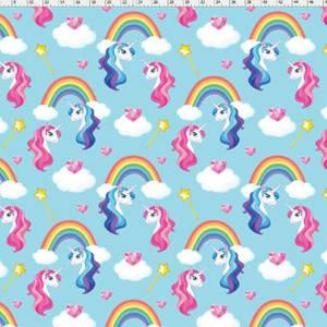 Bilde av Jersey enhjørning / unicorn med regnbue og hjerter