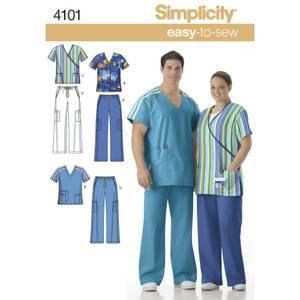Bilde av Simplicity 4101 Helseuniform