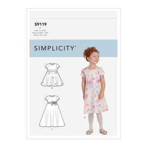 Bilde av Simplicity S9119 Kjole til barn