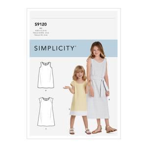 Bilde av Simplicity S9120 Kjole til barn