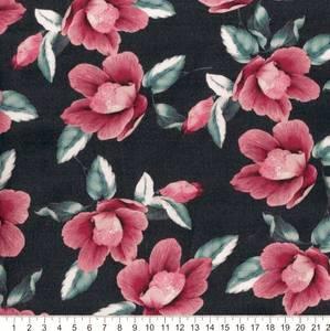 Bilde av Viscose blomster røde