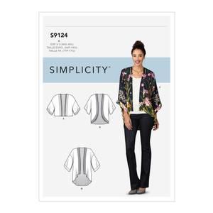 Bilde av Simplicity S9124 Kimono