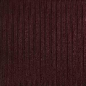 Bilde av Viskose ribbestrikket - burgunder