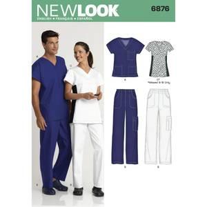 Bilde av New Look 6876 Helseuniform