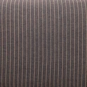 Bilde av Viscose blanding med stretch blå med striper