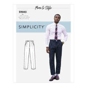 Bilde av Simplicity S9043 Bukse til mann