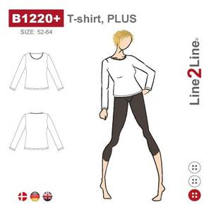 Bilde av Line2Line B1220+ T-shirt (str. 52-64)