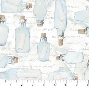 Bilde av Bomull - Sail Away, message in a bottle