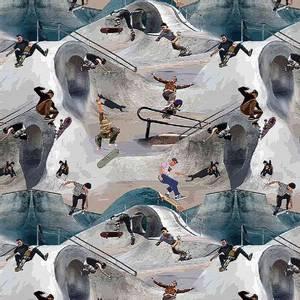 Bilde av Jersey - Skater i skatepark