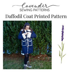 Bilde av Lavender Sewing Patterns - Daffodil Coat