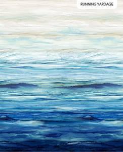 Bilde av Bomull - Sail Away, anchor ombre