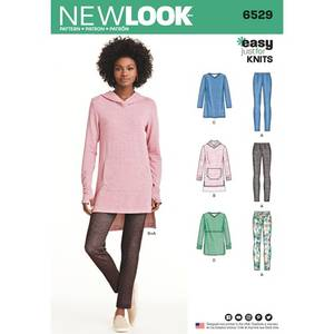 Bilde av New Look 6529 Tunika og tigths