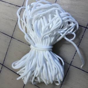Bilde av Myk rund strikk til munnbind
