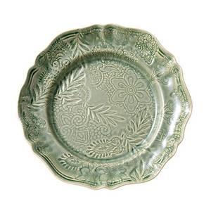 Bilde av Sthål - rundt serveringsfat, Antique