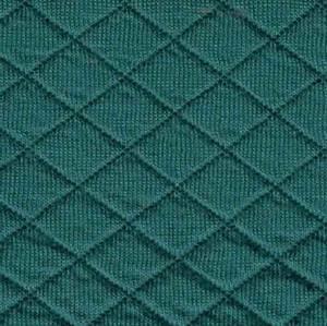 Bilde av Quiltet jersey sjøgrønn