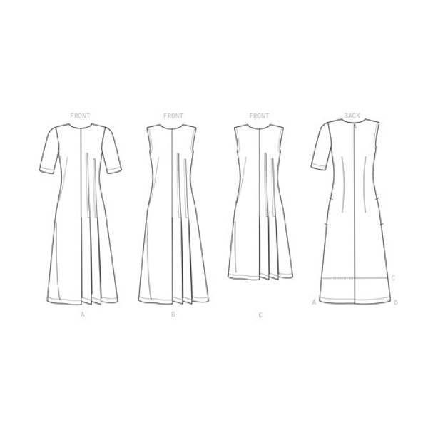 Simplicity S9223 Kjole med folder