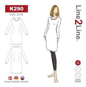 Bilde av Line2Line K290 T-skjorte kjole