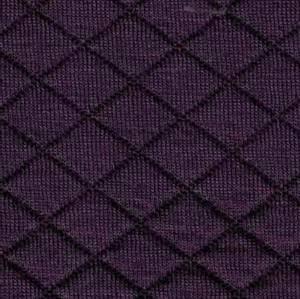 Bilde av Quiltet jersey støvet mørk lilla