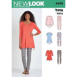 Bilde av New Look 6439 Tunika og leggings