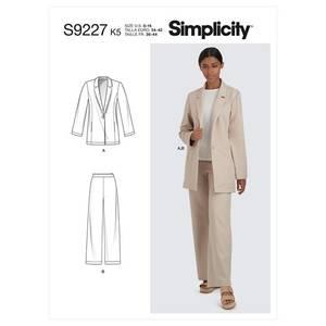 Bilde av Simplicity S9227 Jakke og bukse