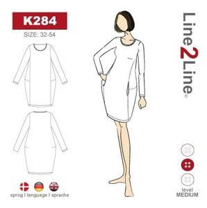 Bilde av Line2Line K284 Ballongkjole med lommer