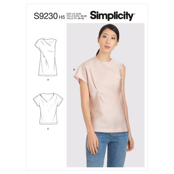 Simplicity S9230 Topp