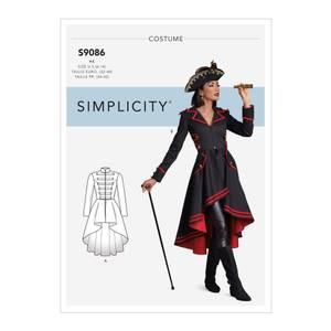 Bilde av Simplicity S9086 Kostyme Steampunk