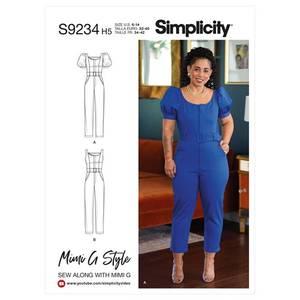 Bilde av Simplicity S9234 Jumpsuit